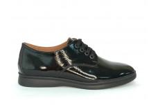 Женские черные лаковые туфли Арт. 070-01л