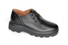Женские черные кожаные туфли Арт. 1250-01-1