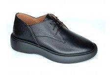 Женские черные кожаные туфли Арт. 1250-01