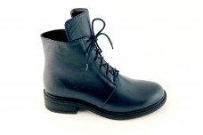 Женские синие ботинки Арт. 1258-02