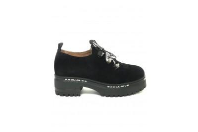 Женские черные туфли Арт. 1777-01ч