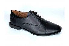 Женские черные кожаные туфли Арт. 2256-01