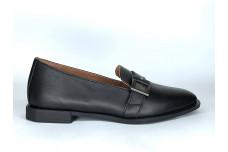 Женские черные кожаные туфли Арт. 2280-01-1