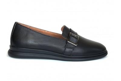 Женские черные кожаные туфли Арт. 2280-01