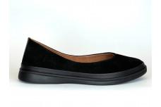 Женские черные замшевые туфли Арт. 230-96