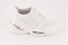 Женские белые кроссовки Арт. 2322-05