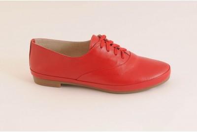 Женские красные туфли Арт. 342-03