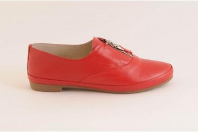 Женские красные туфли Арт. 347-03