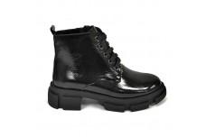 Женские черные ботинки Арт. 355-01л
