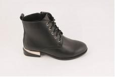 Женские черные ботинки Арт. 365-01-1