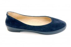 Женские синие балетки Арт. 430-51