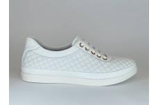 Женские белые кеды Арт. 530-05