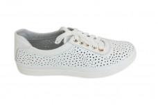 Женские белые кеды Арт. 545-05