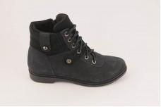 Женские синие ботинки Арт. 552-97