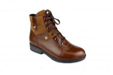 Женские коричневые ботинки Арт. 552-к