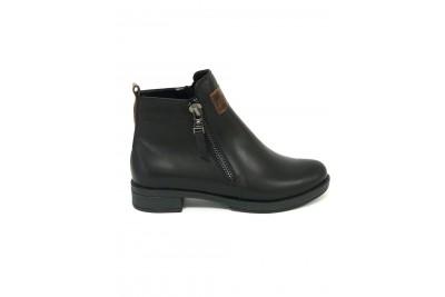 Женские черные ботинки Арт. 701-01