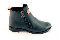 Женские синие ботинки Арт. 701-02