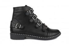 Женские черные ботинки Арт. 7070-01
