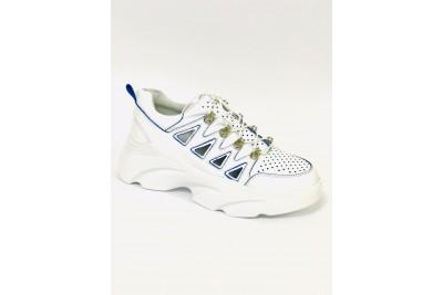 Женские белые кроссовки Арт. 1108-05с