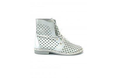 Женские летние белые ботинки Арт. 1405-24