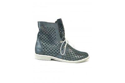 Женские летние ботинки джинс Арт. 1405-39