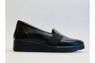 Женские кожаные черные туфли Арт. 2088-01