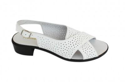 Женские белые босоножки Арт. 3312-05