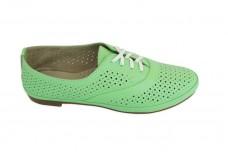 Женские зеленые туфли Арт. 345-с