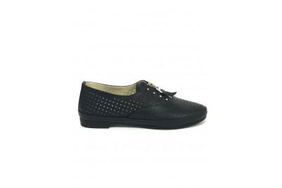 Женские синие туфли Арт. 348-02
