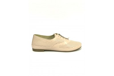 Женские туфли пудра Арт. 348-06