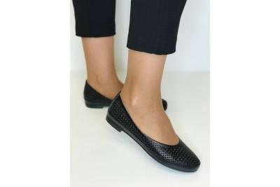 Женские черные балетки Арт. 405-01