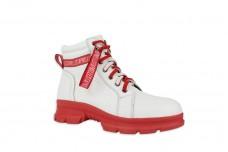 Женские белые ботинки Арт. 1223-05