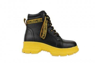 Женские черные ботинки Арт. 1223-01ж