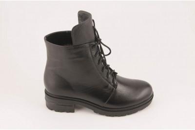Женские черные ботинки Арт. 1260-01