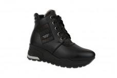 Женские черные ботинки Арт. 1339-01