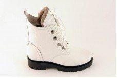 Женские белые ботинки Арт. 1640-05