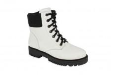 Женские белые ботинки Арт. 214-05
