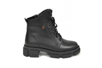 Женские черные ботинки Арт. 2254-01