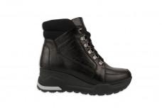 Женские черные ботинки Арт. 2255-01