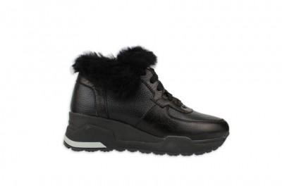 Женские черные ботинки Арт. 2256-01