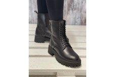 Женские черные зимние ботинки Арт. 2321-01
