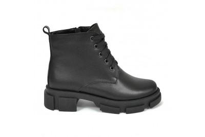 Женские черные ботинки Арт. 322-01