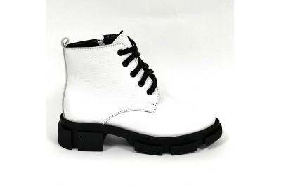 Женские белые ботинки Арт. 322-05