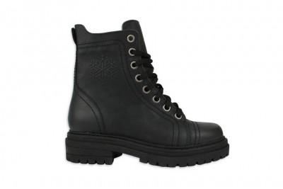 Женские черные ботинки Арт. 419-01