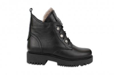 Женские черные ботинки Арт. 840-01